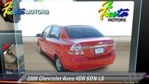 2008 Chevrolet Aveo 4DR SDN LS - Fiesta Motors, Lubbock