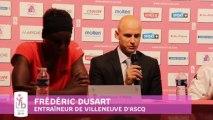 OPEN LFB 2013 - Vil. d'Ascq / Basket Landes - Les réactions
