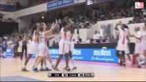OPEN LFB 2013 - Vil. d'Ascq / Basket Landes - Le résumé
