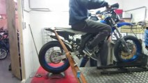 Derbi senda DRD MHR TEAM 85cc testbank