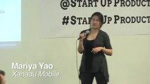 Mariya Yao, Founder & Product Strategist, Xanadu Mobile speaks at Startup Product Summit SF1
