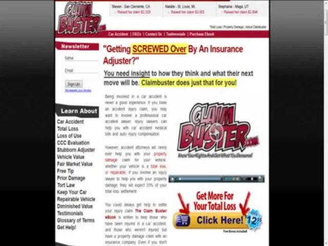 Car Accident Help Book (DOWNLOAD)