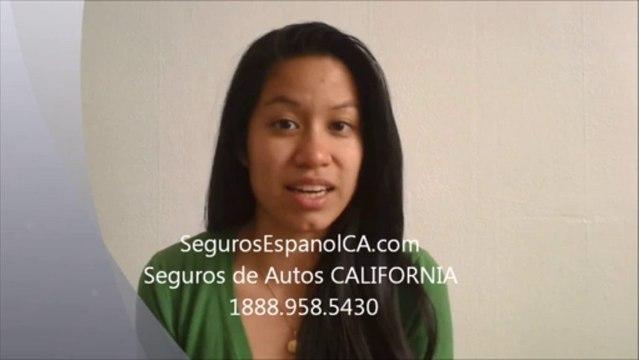 Seguros de Autos Baratos Economicos en California