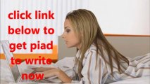Make Extra Money By Writing Articles - Paid Online Writing Jobs