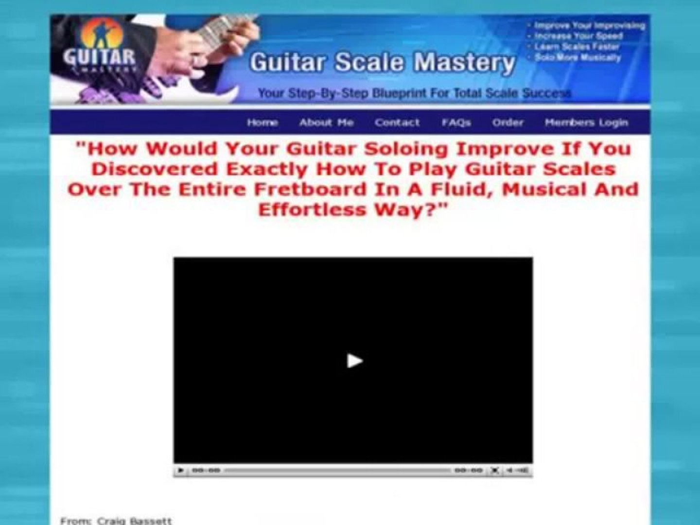 Learn To Play Guitar   Guitar Scale Mastery