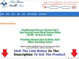 Blue Heron Health News Blood Pressure Exercise Program + DISCOUNT + BONUS