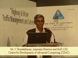 TrafficInfraTech Expo 2011 - Speaker - V. Muralidharan's Speech