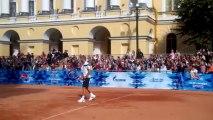 Highscreen Alpha R, тест камеры - Теннис