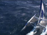 7 jours BFM: Rencontre exclusive avec Armel Le Cléach' à bord de son trimaran - 05/10