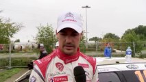 Loeb sort de la route et Sordo monte sur le podium du Rallye de France - Citroën WRC 2013