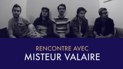 Misteur Valaire, l'interview et le freestyle mi français, mi anglais...