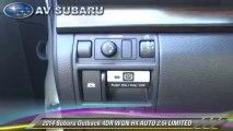 2014 Subaru Outback 4DR WGN H4 AUTO 2.5I LIMITED - AV Subaru, West Lancaster