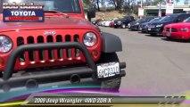 2009 Jeep Wrangler  4WD 2DR X - Bob Baker Toyota, near San Diego La Mesa Spring Valley Broadway Heights Redwood Village National City El Cajon