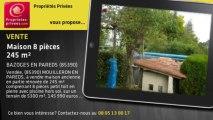 A vendre - maison - BAZOGES EN PAREDS (85390) - 8 pièces - 245m²
