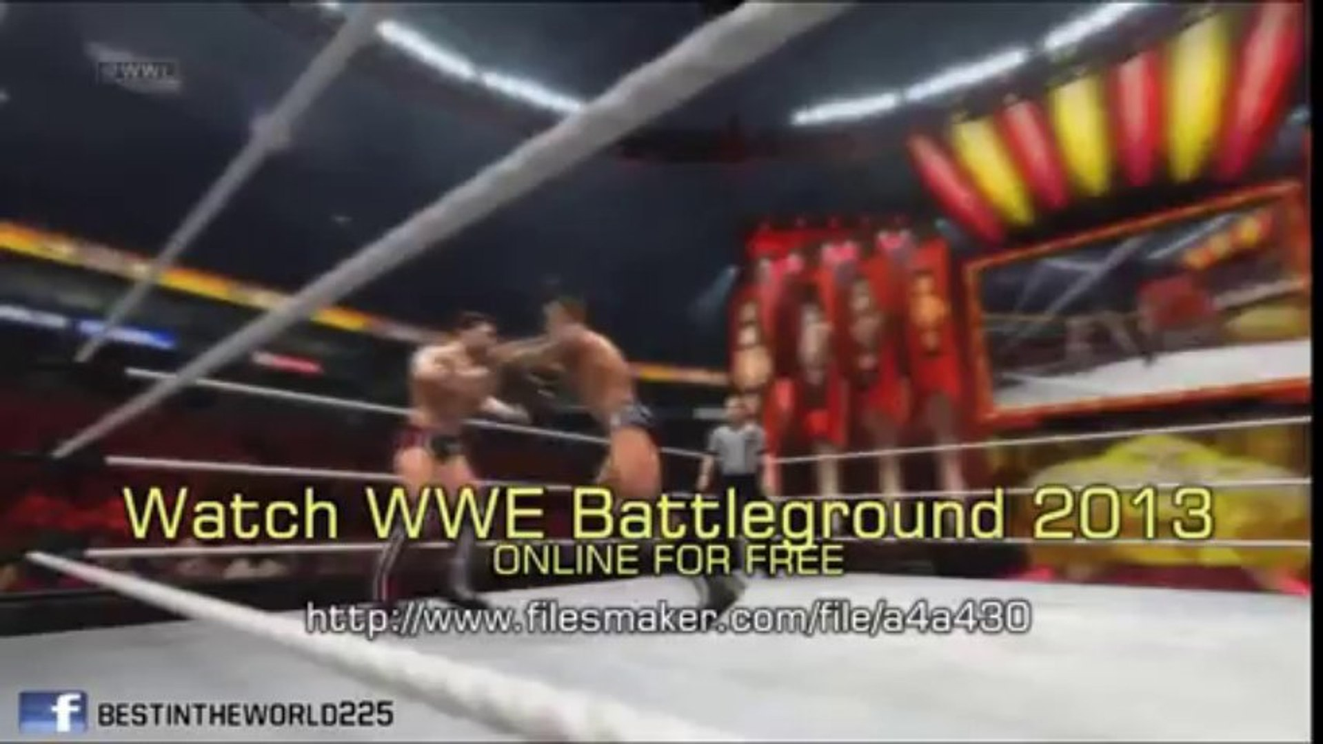 Watch WWE Battleground  2013 Live Stream Online Free (Full Matches)