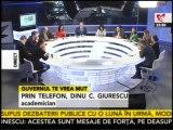 4/ 4 - REALITATEA TV,  TINTA LUI PONTA. Dinu C. Giurescu e solidar cu jurnalistii (Jocuri de putere)
