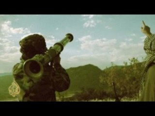 Tir au lance roquette par un taliban !