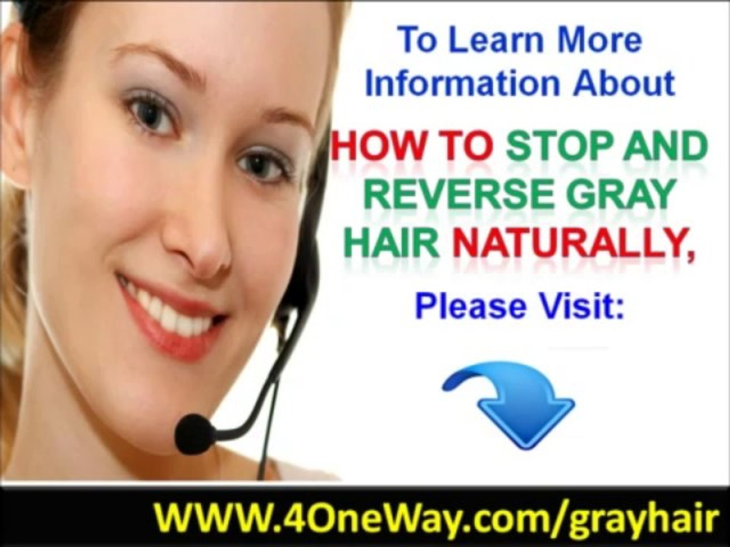 How To Stop And Reverse Gray Hair Naturally - Gray Hair No More