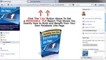 Facebook Like Page Builder - Build Your Very Own Facebook Like-Fan Pages Instantly - Free Download