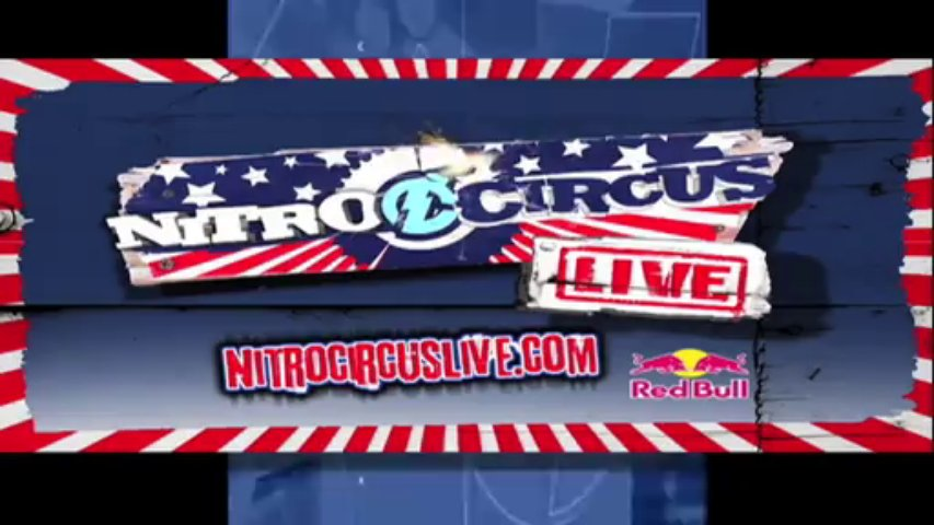 Xcorps Action Sports Music TV NITRO CIRCUS LIVE with Dirty Little Rabbits