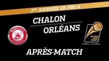 Après-Match - J01 - Orléans se déplace à Chalon