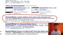 keyword winner plugin SEO para wordpress
