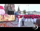 Partita da Mosca la staffetta della torcia olimpica, la più lunga. Dopo la cerimonia la fiaccola si spegne