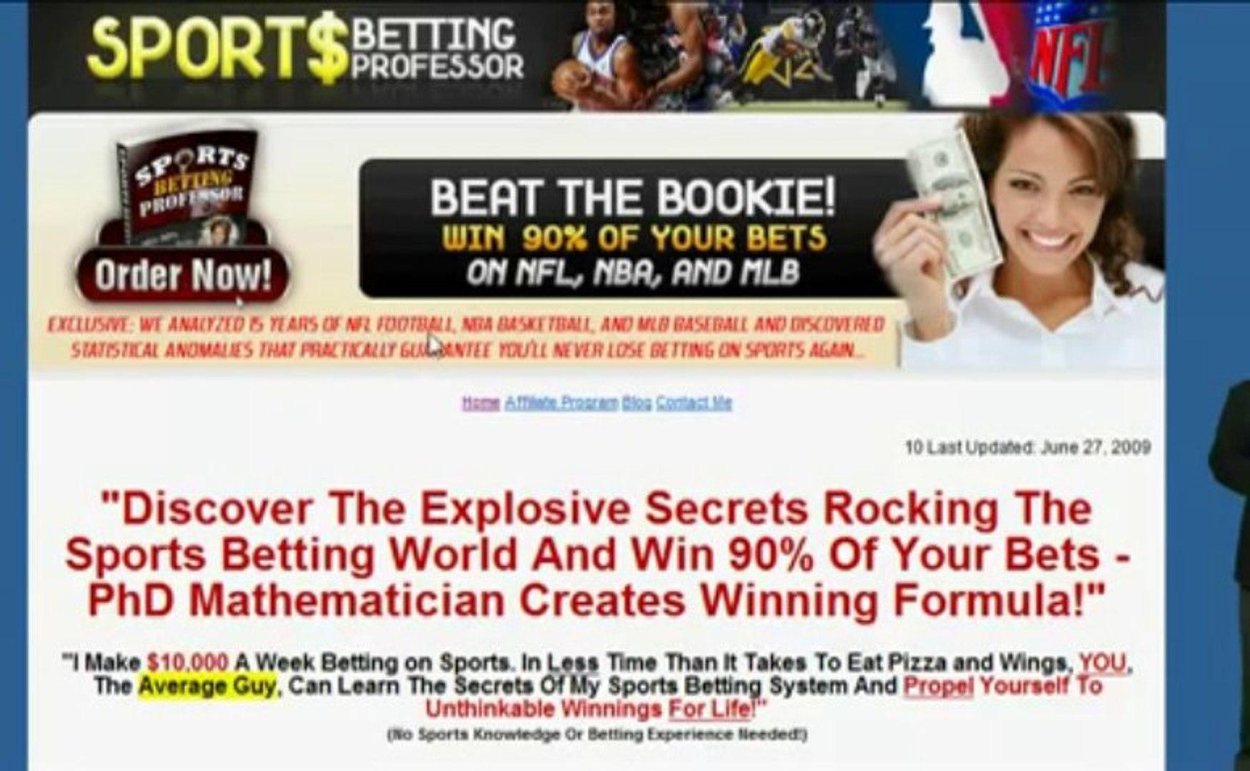 Sports betting professor nba system betting quinella betting strategy