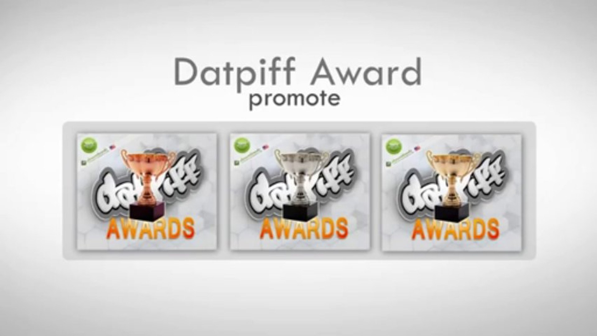 Get Datpiff Awards, and up on Datpiff Hot This Week - Mixtape Promotion