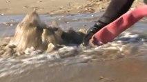 Contre-minage à Sète par le Groupement des Plongeurs Démineurs