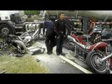 Two killed, three injured in Malaysia motorcycle convoy crash