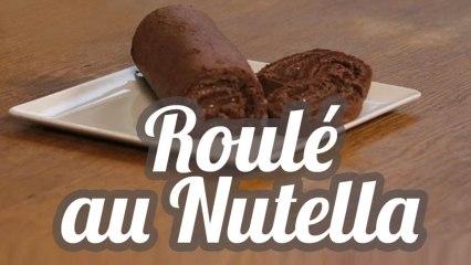Roulé au Nutella