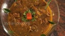 India food recipe - Green Chilli Mutton Curry