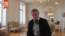 Patrick Gomont, maire de Bayeux, parle de la 20ème édition du Prix Bayeux
