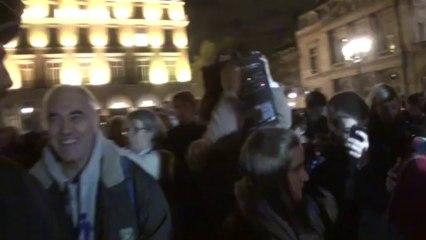 Paris (France) 07/10/2013  Veilleurs vs Police