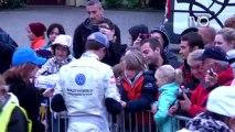 Rallye WRC : Second passage au point de contrôle à Oberhoffen