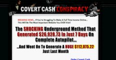 Covert Cash Conspiracy | Covert Cash Conspiracy Review | Covert Cash Conspiracy Scam or Legit?