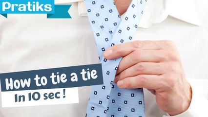 Tips - How to Tie a Tie in 10 Seconds