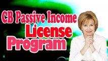 CB Passive Income License Program   CB Passive Income License Program Review