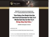 The Deep Voice Mastery - Untapped Niche - Earn $33sale! Download Now
