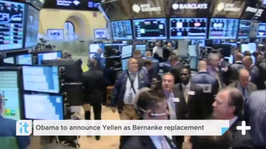 Obama To Announce Yellen As Bernanke Replacement