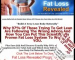 Fat Loss Revealed Review: Fast Way to Lose Belly Fat