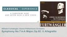 Ludwig Van Beethoven : Symphony No.7 in A Major, Op.92  : II. Allegretto