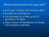 Xtreme Fat Loss Diet Review - Does The Joel Marion Diet Work?