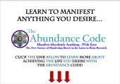 The Abundance Code By Mike Evans   Manifesting Your Desires With The Abundance Code