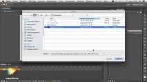 Tutoriel Flash CC : Gestion des fichiers dans Flash CC   video2brain.com