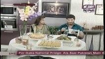 Zauq Zindagi with Sara Riaz and Dr. Khurram Musheer, Tawa Chops, Nihari masala, Besan Suji ka Halwa & Upside-down Pizza, 7-10-13, part 2 of 2