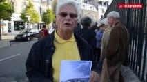 Vannes. Manifestation anti-moules de bouchot : une pétition remise