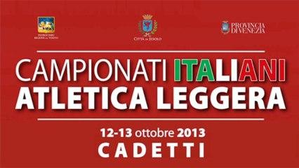 CAMPIONATI ITALIANI CADETTI - JESOLO 2013 official