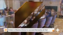 Yellen Is Obama Choice To Succeed Bernanke At Fed